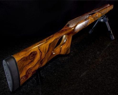 Carbonschaft für Blaser R8 Holzoptik