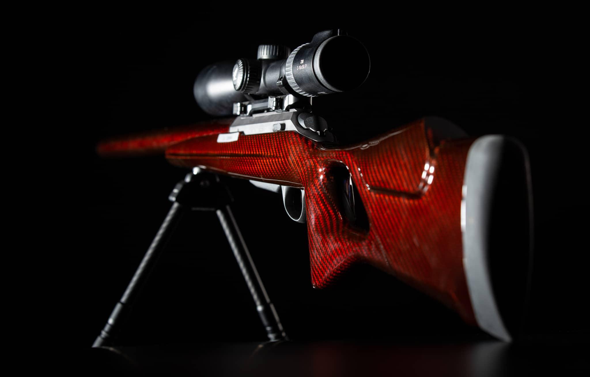 custom stock red